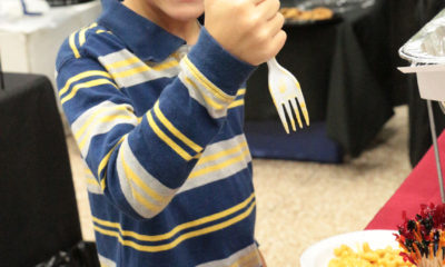 Students taste test at the Education Service Center, Region 2, School Nutrition Food Services Expo by the Sea