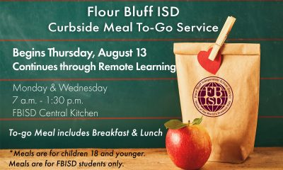 FBISD Curbside Meal to go service graphic